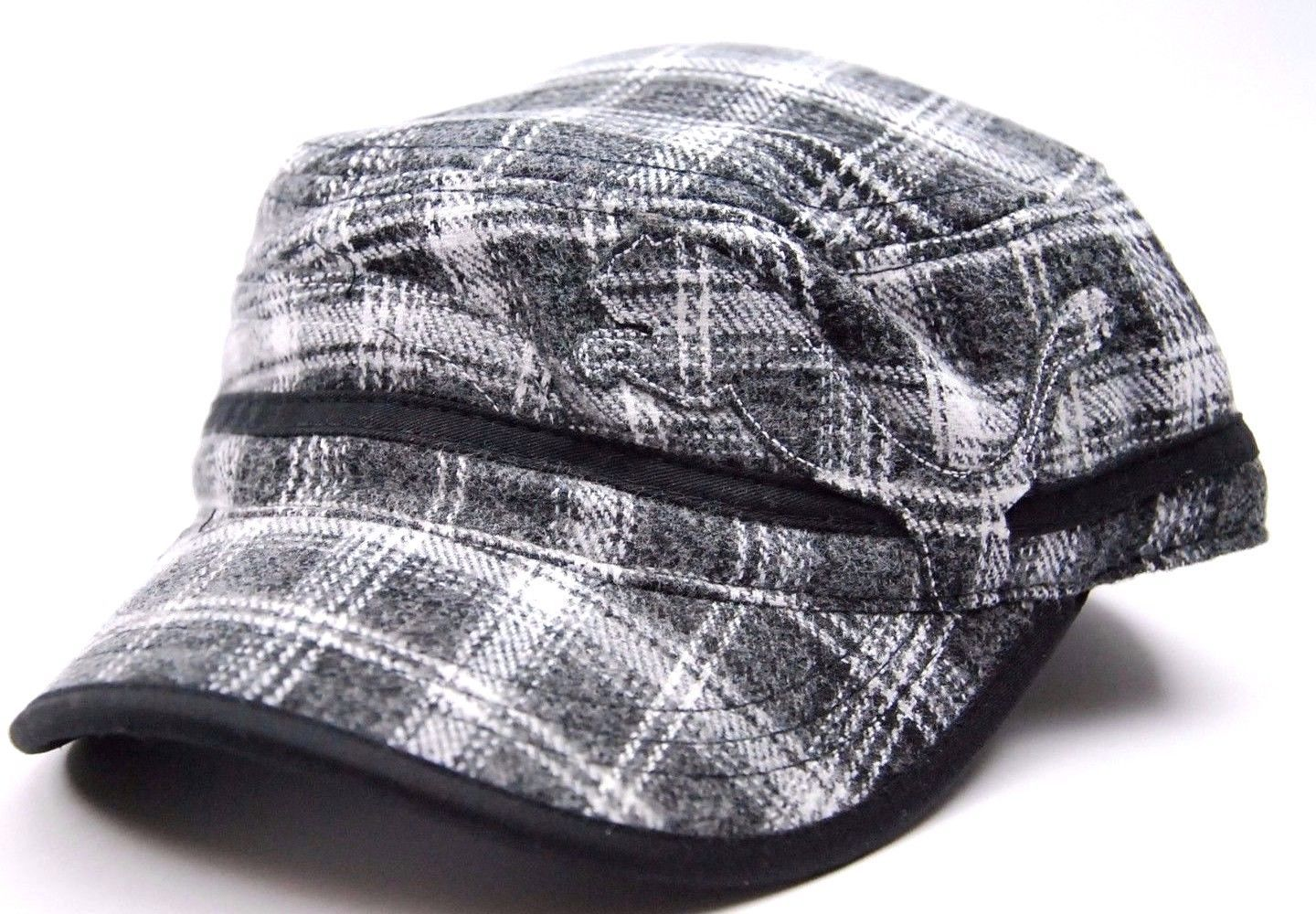 S l1600. S l1600. Previous. Puma Plaid Military Cadet Style Cap ... 73839ba7efe