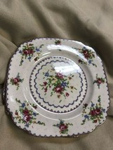 Royal Albert Petit Point Luncheon Plates-Square - $10.70