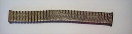"NEW Speidel Stretch Gold-Tone Watch Band 5 3/4"" long x 17mm wide - $39.55"