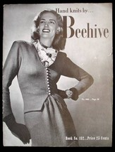 Hand Knits By Beehive Knitting Pattern Book  132 Dickey-Suits 1945 How To - $23.22