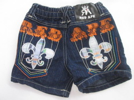 Red Ape denim shorts SIZE 3-6 MONTHS - $4.90