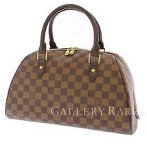 LOUIS VUITTON Ribera MM Damier Canvas Ebene Handbag N41434  Authentic 5492077 - $840.14