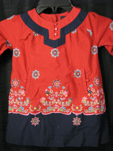 BABY GAP ST PETERSBURG RED RUSSIA RUSSIAN DRESS 3-6 EEUC - $23.50