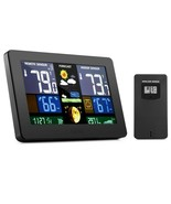GBlife PT3378 Digital Weather Station with LCD Screen - $36.62