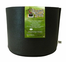3 pack 5 Gallon Black Smart Pots With No Handles Fabric Grow Container 1... - $23.21+