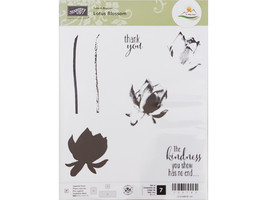 Stampin' Up! Lotus Blossom Clear Stamp Set #139143