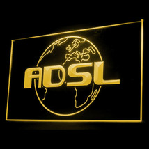 130032B ADSL Internet Shop Connection Cafe Policy Cable Display LED Light Sign - $18.00