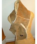 UGG® Australia 4 Panel Pull-Through Shearling Chestnut UGG Scarf - $161.90