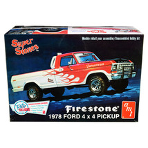 Skill 2 Model Kit 1978 Ford 4x4 Pickup Truck Firestone Super Stones 1/25... - $59.66