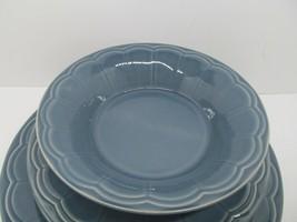 Euro Ceramica Naperon Lot Dinner Plates, Salad Plates, Bowl 5 Pieces. - $38.22