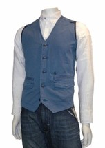 G Star Raw Rct Omega Gilet Vest, True Blue, Size Xl $190 Bnwt - $69.75