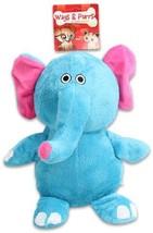 "10"" Plush Elephant Squeaker Pet Toy (Pack Of 24)"