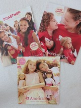Lot of 3 Holiday Catalogues 2015 American Girl  - $29.65