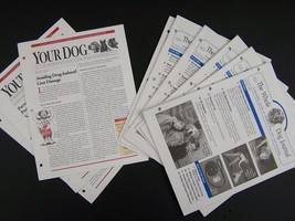 Whole Dog & Your Dog Pet Car Journal Newsletters Lot - $17.68