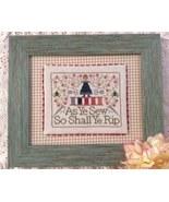 The Frog Motto cross stitch chart Annie Beez Folk Art  - $8.10