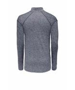 Nike Men's Dri-Fit 1/4 Zip Running Sweatshirt, Heather Navy, Small - $39.99