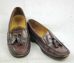 Cole Haan Pinch Tassel Loafers Mahogany Dress Shoes 03508 Mens Size 10 D - $39.57