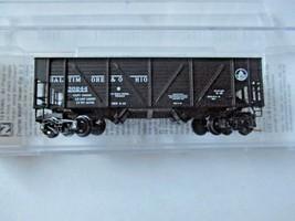 Micro-Trains # 05700080 Baltimore & Ohio 33' Twin Bay Hopper, N-Scale image 1
