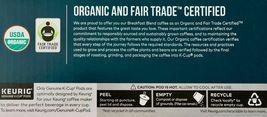 New Kirkland Breakfast Blend Light Roast Coffee Keurig 12, 24, 36, 72 K-Cup Pods image 4