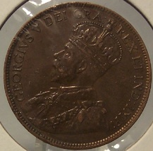 KM#21 1915 Canada Penny AU #0388 - $11.99