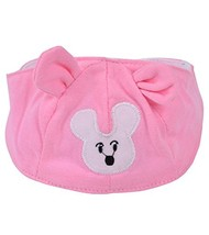Summer Baby Hats/Caps Infant Bald Head Cotton Hats Pink Mice image 2