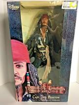 """Pirates Of The Caribb EAN Dead Mans Chest 18"""" Capt Jack Sparrow Sounds Figure - $67.72"""