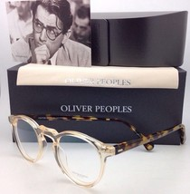 Oliver Peoples Gregory Peck Ov 5186 1485 45-23 Rond Buff & Tortue Lunettes