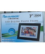 """Panimage Led Digital Photo Frame, 7"""", 2000 Images, One Touch, BRAND NEW ... - $84.14"""