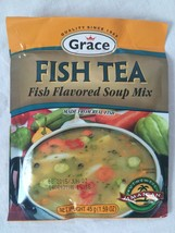 Grace Jamaican Style FISH TEA Flavored Soup Mix (Pack of 3) 1.59 oz per ... - $14.84