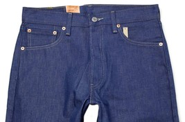 NEW LEVI'S 501 MEN'S ORIGINAL STRAIGHT LEG JEANS BUTTON FLY BLUE 501-1404 image 2