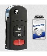 For 2011 2012 2013 2014 2015 Mazda 2 Keyless Entry Flip Remote Key Fob - $17.69