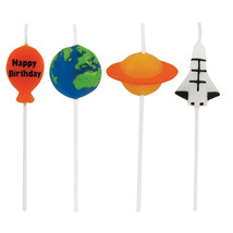 Candles Molded Pick Sets Space/Case of 48 - ₨3,808.88 INR