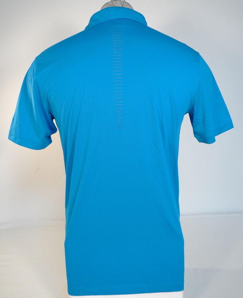 ee4ccaf48 Nike Golf Dri Fit Standard Fit Blue Short Sleeve Polo Shirt Mens NWT