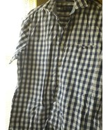 Lot of 4 Banana republic plaid shirts CHAPS 1 Izod LARGE BLUE RED - $30.86