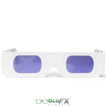 GloFX Star Effect Paper Cardboard Diffraction Glasses - Pack of 20 - Rave EDM - $19.46