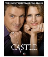 Castle: The Complete Eighth 8 and Final Season (DVD, 2016, 5-Disc Set)    - $16.50