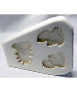 Ceramic Mold Thanksgiving Fall Magnets 1984 Dana's Molds Applique D-99 M... - $12.00
