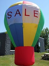 CC Inflatables BZB 16FT Promotional Advertising Inflatable Hot Air Style... - $496.48