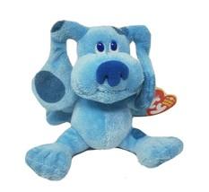 "5"" TY BEANIE BUDDIES BLUE BLUE'S CLUES 2006 STUFFED ANIMAL PLUSH TOY W/ TAG - $28.05"