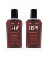 (Pack of 2)  AMERICAN CREW Liquid Wax 150 ml / 5.1 oz - $9.99