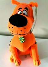 """New Scooby -Doo Plush Toy Fluorescent Orange. Large 12"""" each. Licensed. NWT - $18.61"""