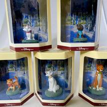 Disney Store Tiny Kingdom ARISTOCATS 1970 Complete Set of 5 Miniature Figurines - $74.20