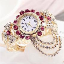 2019 Top Brand Luxury Rhinestone Bracelet Watch Women Watches Ladies Wri... - $37.90