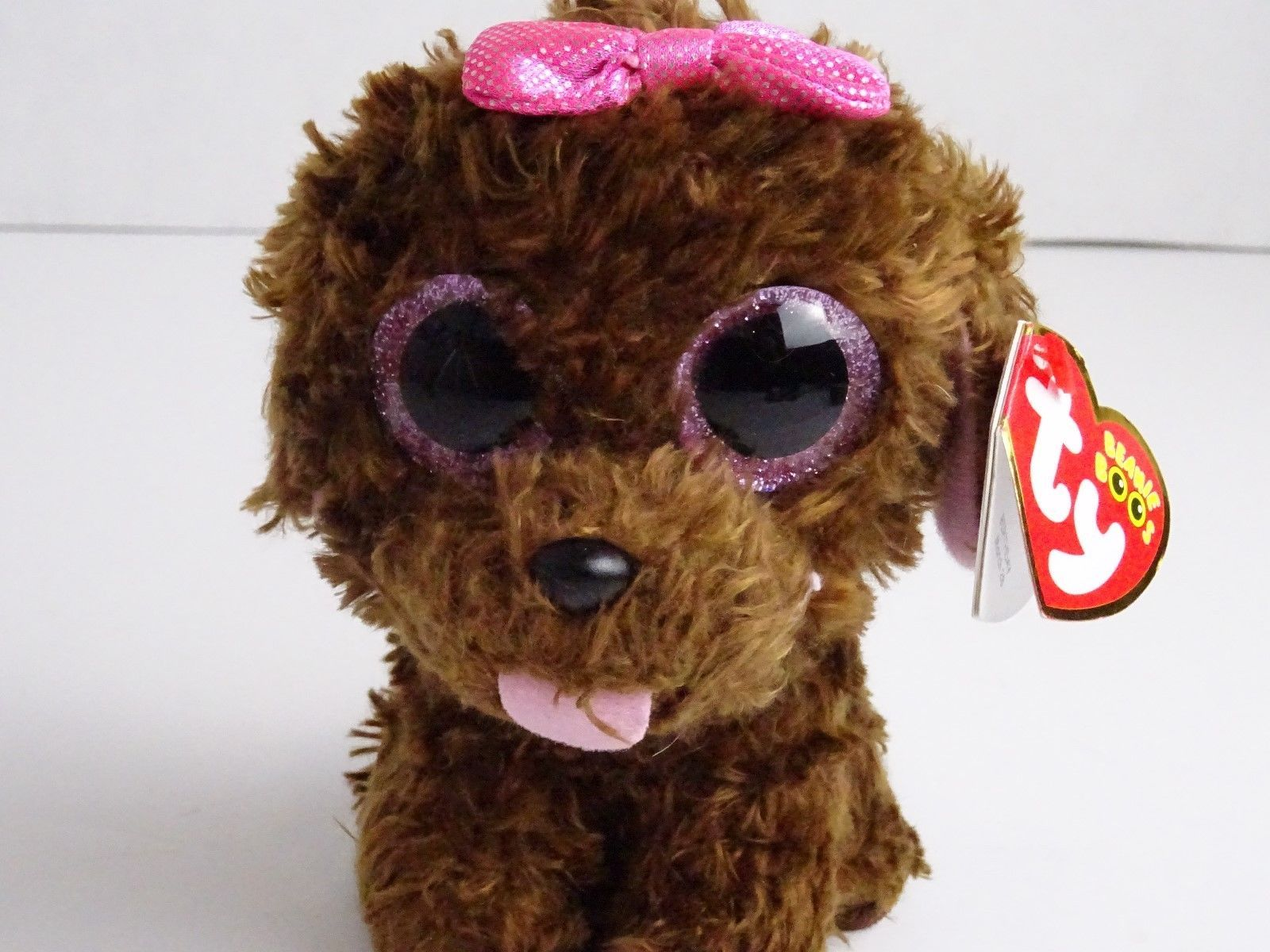 956bab4f679 TY Beanie Boo MADDIE the Brown Dog Plush and 50 similar items