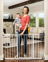 Regalo Easy Open 47-Inch Super Wide Walk Thru Baby Gate, Includes 4-Inch... - $54.99