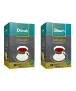 Dilmah earl grey pure Ceylon tea - 50 Bags 100g (3.53oz) X 02 packs - $19.70