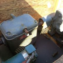 INDUSTRIAL GEARBOX RIG - RELIANCE MOTOR 1725 RPM - DRIVE ALL  - FALK INDUSTRIAL image 11