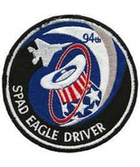 USAF 94th Fighter Squadron SPAD EAGLE DRIVER PATCH STICKER - $9.89