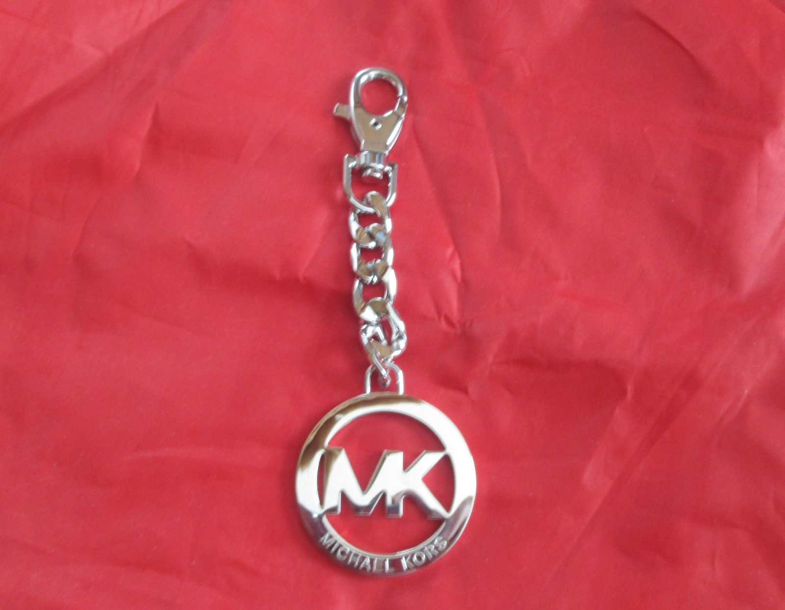 af11863e35c10e Michael Kors MK Chain Logo Charm, Key Fob, and 50 similar items