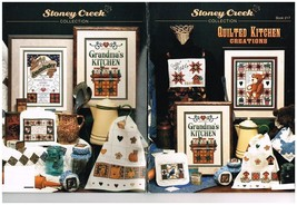 QUILTED KITCHEN CREATIONS - STONEY CREEK CROSS STITCH BOOK - $8.86